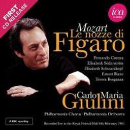Nozze di Figaro K492 (Le) : Les Noces de Figaro   Mozart, Wolfgang Amadeus. Compositeur