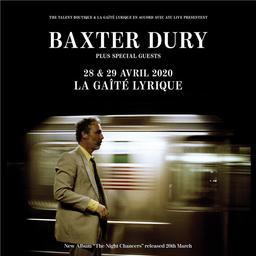 Night Chancers (The) | Dury, Baxter. Chanteur