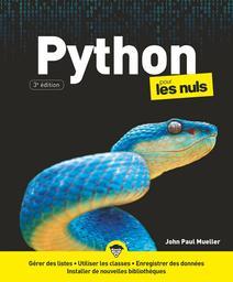 Python : pour les nuls | Mueller, John