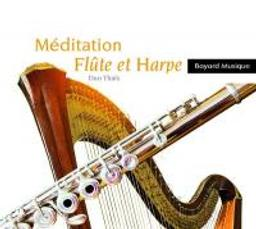 Méditation : Flûte et harpe | Bellon, Florence. Flûte