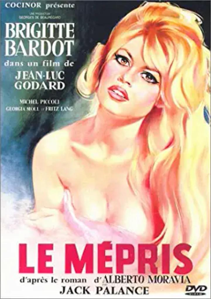 Le Mépris. Les Carabiniers   Godard, Jean-Luc. Monteur